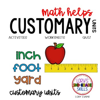 2nd Grade 2.MD.A  Math Helps - Customary Units