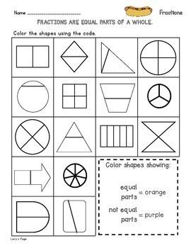 Fractions 2.G.A.3  2nd Grade Math Helps