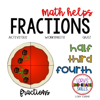 Fractions 2.G.A.3  2nd Grade Math Helps