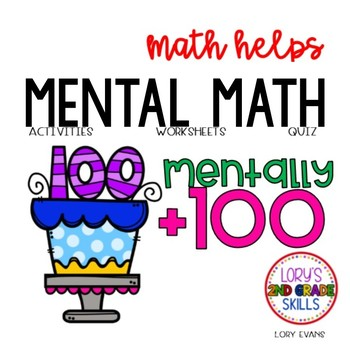 Mentally + 100  2.NBT.B.8   2nd Grade Math Helps