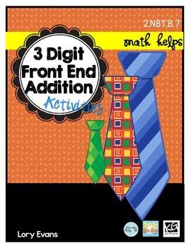 3 Digit Front End Addition  2.NBT.B.7   2nd Grade Math Helps