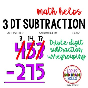 3 Digit Subtraction w/Regrouping  2.NBT.B.7  2nd Grade Math Helps