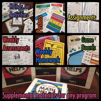 2nd Grade Math Helps and Homework