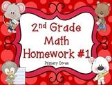 2nd Grade Math Homework - Part 1