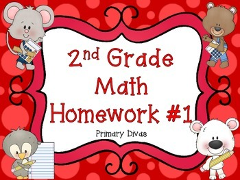 2nd Grade Math Homework - Part 1