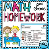 Second Grade Math Homework - 1st quarter