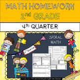 2nd Grade Math Homework - 4th Quarter