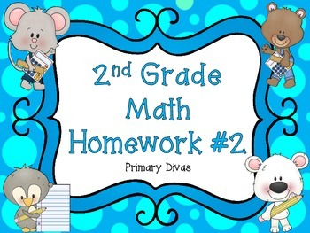 2nd Grade Math Homework - Part 2