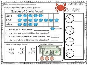 2nd Grade Math Homework - Part 2