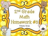 2nd Grade Math Homework - Part 3