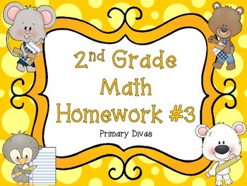 2nd Grade Math Homework - Part 3