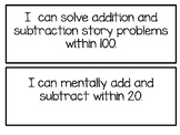 2nd Grade Math ¨I Can¨ Standards- Year Round