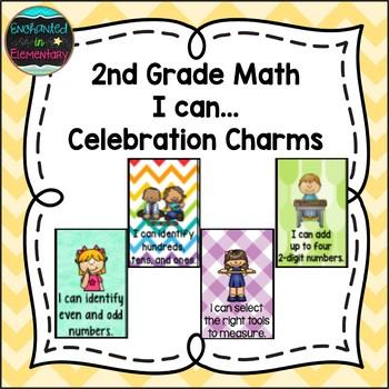 2nd Grade Math I can...Brag Tags