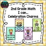 2nd Grade Math I can...Celebration Charms