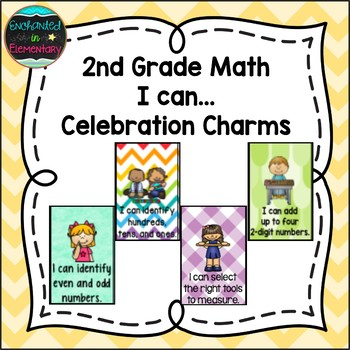 2nd Grade Math I can...Brag Tags