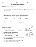 2nd Grade, Math In Focus, Chapter 8 Test Prep Parallel Problems (Part 2)