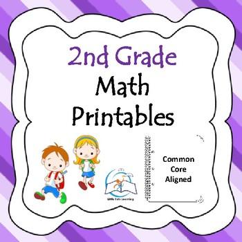 2nd Grade Math Printables