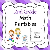 2nd Grade Math Printables Worksheets
