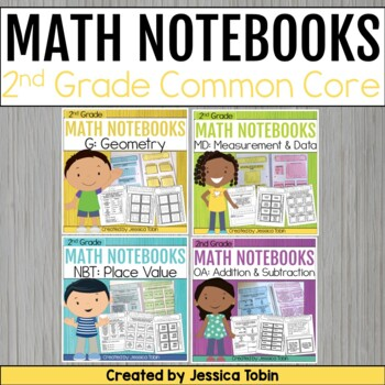2nd Grade Math Interactive Notebooks
