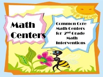 2nd Grade Math Intervention Centers