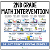 2nd Grade Math Intervention | Full Year Print and Digital