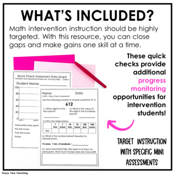 2nd Grade Math Intervention Math RTI Resources COMPLETE YEAR LONG BUNDLE