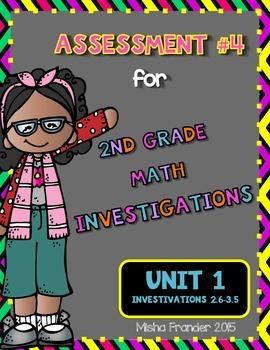 2nd Grade Math Investigations Assessment #4