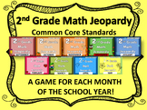 2nd Grade Math Jeopardy
