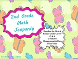 2nd Grade Math Jeopardy ~ CCSS PowerPoint Spring / Easter