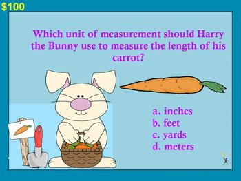 2nd Grade Math Jeopardy Game~ CCSS Promethean/ClassFlow Spring / Easter Theme