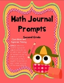 2nd Grade Math Journal Prompts