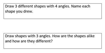 2nd Grade Math Journal Prompts *Editable