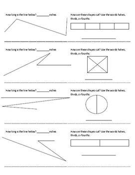 2nd Grade Math Journal Strips: 35 Weeks [BUNDLED]