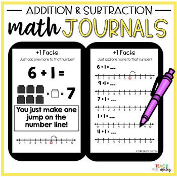 Second Grade Guided Math Journals Addition & Subtraction