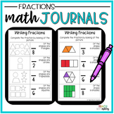 2nd Grade Math Journals {Fractions}