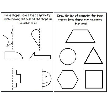 Second Grade Guided Math Journals Geometry