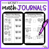 Second Grade Guided Math Journals Money