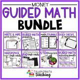 BUNDLE Second Grade Guided Math Money Unit