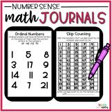 Second Grade Guided Math Journals Number Sense