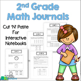 2nd Grade Math Journals for Interactive Notebooks {Common