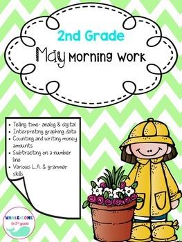 2nd Grade Math & LA Morning Work- MAY