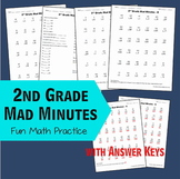 2nd Grade Math ~ Mad Minutes
