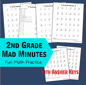 Mad Minute Multiplication Teaching Resources | Teachers Pay Teachers
