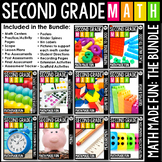 2nd Grade Math: Math Made Fun Curriculum (The Growing Bundle)