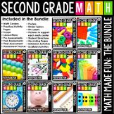 2nd Grade Math: Math Made Fun Curriculum (The Growing Bundle)