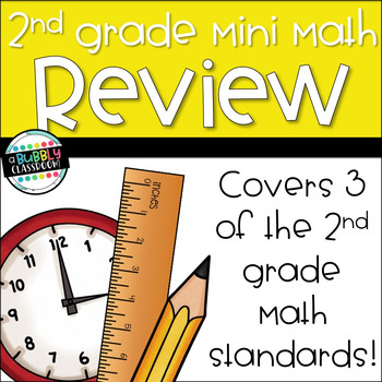 2nd Grade Math Mini-Pack {Print and Go}