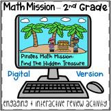 2nd Grade Math Mission - Digital Escape Room - Pirates Mystery Base Ten