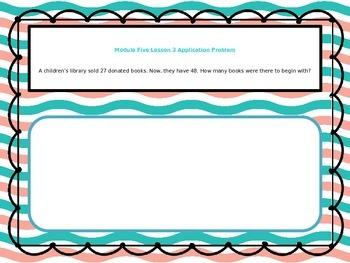 2nd Grade Math Module 5 Application Problem Bundle