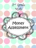 2nd Grade Math Money Assessment