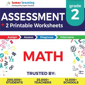 2nd Grade Math Online Assessment & Printable Worksheets